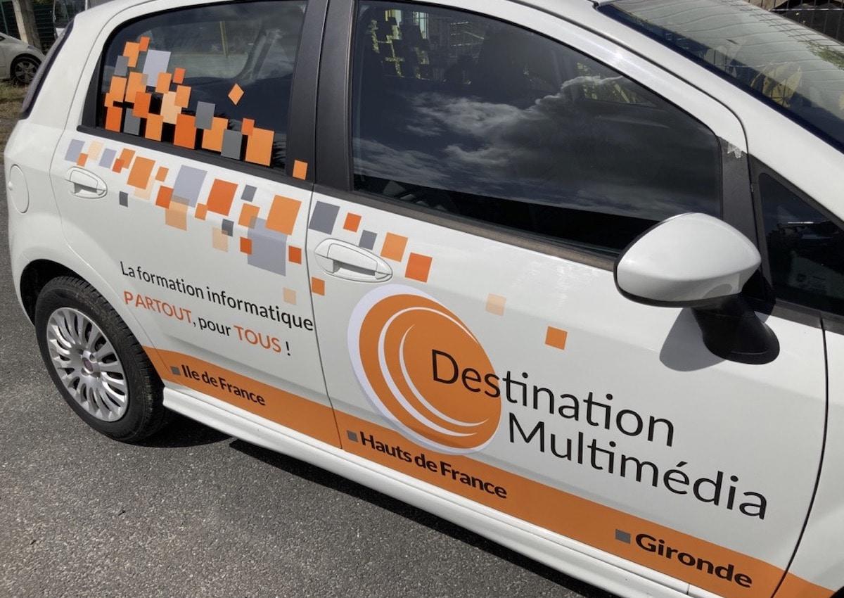 vehicule impression 1 destination